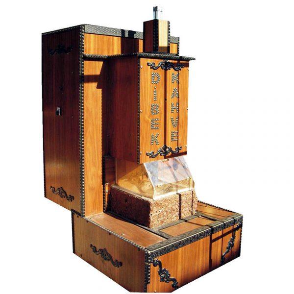 0000219 Tasli Dibek Kahve Makinasi Kuban®